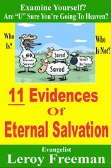11 Evidences of Eternal Salvation
